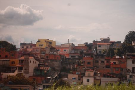 Shanty town in Lima