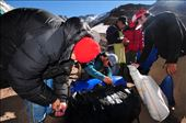 Arrieros and porters prepare for hauling the equipment of an expedition team: by aconcagua, Views[24]