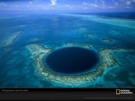 belize blue hole. Belize and the Blue Hole