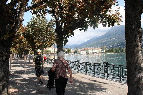 The Esplanade of Lugano