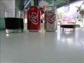 coke and diet coke in thailand.  i expected it to taste different since coke in mexico is much sweeter, but it tasted the same as home.: by anealis314, Views[128]