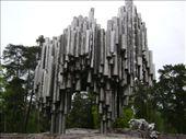 Stainless steel memorial to composer Jan Sibelius, Helsinki: by anijensen, Views[67]
