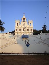 Goa is the smallest state of India,located in West India. The church we see in the snap is PANAJI CHURCH,located in the state capital Panaji. Goa is a former Portuguese province,so people can see old Portuguese architechture here there in the state.Goa is famous for its old churches which was built during the Portuguese rule. : by artist-mukherjee, Views[515]