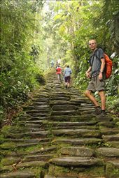 The grand stairs in Ciudad Perdida: by beckandphil, Views[76]