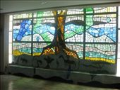 Beautiful stained-glass window inside the museum.: by beth_king, Views[111]