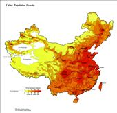 China--Population Density: by bodiekern, Views[285]