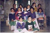 Bk's School. Class 4. Backrow L to R: Bhawana, Khusbu, Geeta, Mamata, Beena. Middle row: Prema, Deepa, Dewani, Khasti, Shila. Front row: Endra & Hema: by bonnie, Views[251]