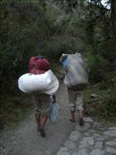 Inca Trail day 2: The amazing porters: by chrisbyrne6, Views[115]