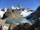 Cerro Fitzroy, from  Laguna de los Tres viewpoint, a steep, hot climb: by clare-tamea, Views[17]