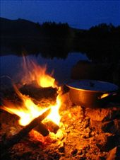 Campfire cooking, Naiman Nuur.: by climberchris, Views[235]