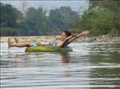 floating down the river in Vang Vieng: by cmbryant912, Views[135]
