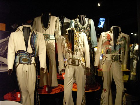 memphis graceland a sample of elvis s jumpsuits usa 2008 usa