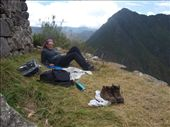 Machu Picchu - chillin' on the terraces: by dannygoesdiving, Views[59]