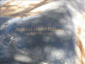 Stone over Fred Hollows grave: by dianne_peter, Views[230]