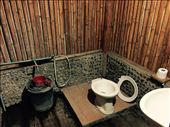 Our hut's bathroom!  Comes with detachable toilet seat!: by dinagosse, Views[72]