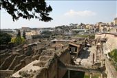 Looking out over Herculaneum, smaller but better preserved than Pompeii: by drmitch, Views[66]