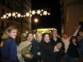 Out on the town with some of the group: Karen, Anna, Amy, Annie, me, Ojaswi, Brint, Emily, Nick, and Ryan.: by eitakg917, Views[206]