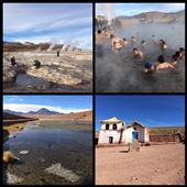Tatio geysers near San Pedro de Atacama. Had to wake up at 4:30 for this excursion!?! But the thermal bath was actually chilly. :-( Not fun for Kurt. : by finally, Views[22]