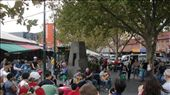 Buskers enjoying the attention outside the Queen Vic Markets.: by flyted, Views[83]