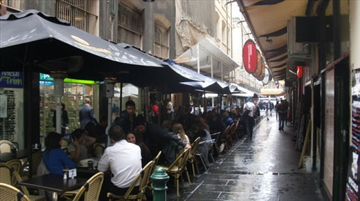 Cafe culture is wonderful in melbourne this city has some of the best