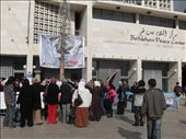 Women gathered outside of the Bethlehem Peace Centre to protest against the War on Gaza.: by gabse, Views[44]