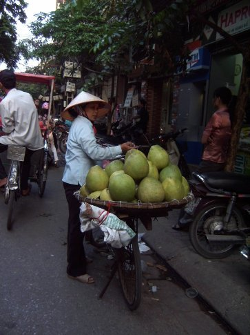 want some fruit? shop on a bike