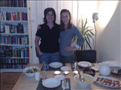 Our awesome host Birgit and Jessica before wonderful dinner.: by houdyman, Views[134]