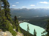 Lake Louise as seen from Beehive peak: by ivanci, Views[152]