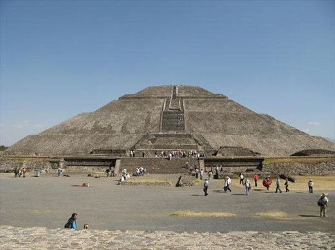 Mexico Pyramids Inside Pyramids Near Mexico City