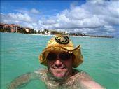 Playa del Carmen, Mexico. Sunsmart Kiwi.: by jambopablo, Views[65]