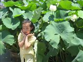 child with lotus flower: by janeb, Views[210]