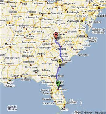 Orlando To Grandfather Mountain North Carolina  01