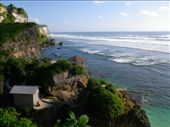 beautiful views of the temple and line up at Ulu Watu: by jo_and_matt, Views[131]