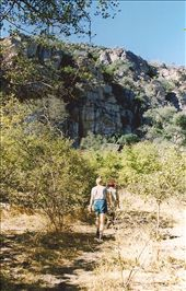 Hiking to the sacred mountain; Tsodilo Hills, Botswana: by johnandconnie, Views[164]
