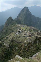 Is this the lost city of the Incas?  Hiram Bingham believed so when he discovered Machu Pichu in 1911.: by jonnygo, Views[454]