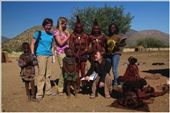 With the Himba in Epupa Falls, Namibia: by kasolheim, Views[391]