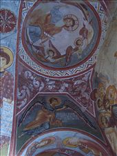 frescoes in a cave church at the open air museum, Goreme: by keera, Views[206]