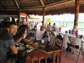 Enjoying a seaside lunch with the locals, Bacalar: by kirstenvelthuis, Views[8]