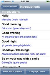 A screenshot from our Turkish language guide: by language-guides, Views[233]