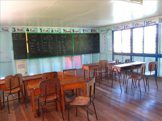 Fijian Classroom