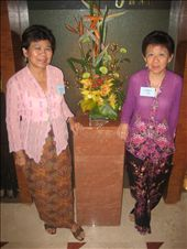 My mom and auntie in sarong kebaya dress: by laurentravels08, Views[584]