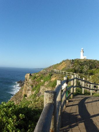 Lighthouse in Byron Bay -- the eastern-most point of Australia