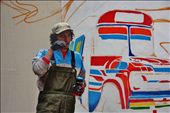 I came back to see the progress of the mural every day. Transported to Bolivia.: by leiladuffy-tetzlaff, Views[79]