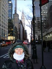 Lee - Ann with Chrysler Building in background, New York.: by les, Views[76]