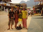 Billy, Eniav, Tim, Me & Jimmy, Vang Vieng: by lisamorrison, Views[200]