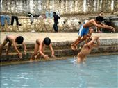 Children cool in the hot summer month in Nepal: by living_in_the_past, Views[51]