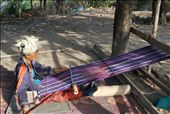 Long hours are spend by the tribe women making scarfs to sell. : by lorib33, Views[30]