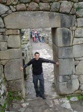 Machu Picchu - hiding from the rain: by lou, Views[219]