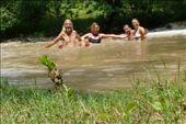 Muddy river fun - coming from San Sebastian with Ernesto and Marina: by margitpirsch, Views[36]