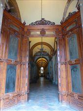 Main plaza church doors in Oaxaca.: by margitpirsch, Views[130]